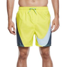 """Nike Swim Breach Volley Spodenki kąpielowe Mężczyźni 5,5"""" żółty/szary"""